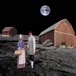 Quakers on the Moon